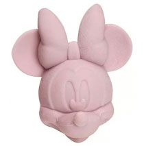 Ponteira de Borracha Minnie - Rosa